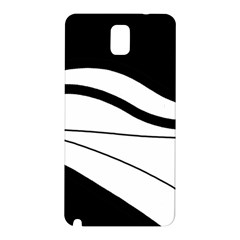 White and black harmony Samsung Galaxy Note 3 N9005 Hardshell Back Case