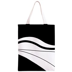 White and black harmony Classic Light Tote Bag