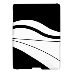 White and black harmony Samsung Galaxy Tab S (10.5 ) Hardshell Case