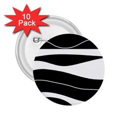 Black light 2.25  Buttons (10 pack)