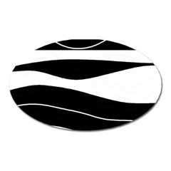 Black light Oval Magnet