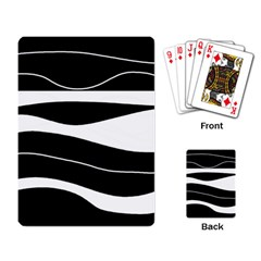 Black light Playing Card