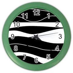 Black light Color Wall Clocks