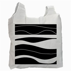 Black light Recycle Bag (One Side)