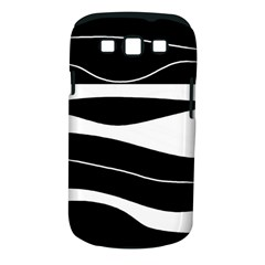 Black light Samsung Galaxy S III Classic Hardshell Case (PC+Silicone)