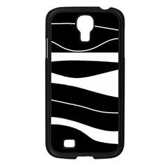 Black light Samsung Galaxy S4 I9500/ I9505 Case (Black)