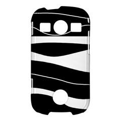 Black light Samsung Galaxy S7710 Xcover 2 Hardshell Case