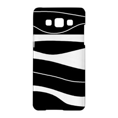 Black light Samsung Galaxy A5 Hardshell Case