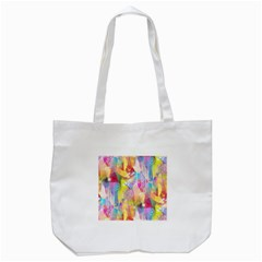 Painted Chaos Tote Bag (White)