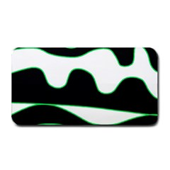 Green, white and black Medium Bar Mats