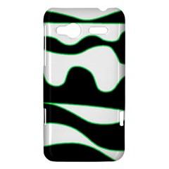 Green, white and black HTC Radar Hardshell Case