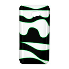 Green, white and black HTC Butterfly S/HTC 9060 Hardshell Case