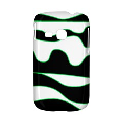 Green, white and black Samsung Galaxy S6310 Hardshell Case