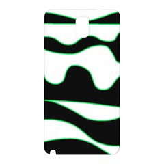 Green, white and black Samsung Galaxy Note 3 N9005 Hardshell Back Case