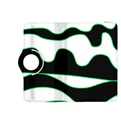 Green, white and black Kindle Fire HDX 8.9  Flip 360 Case
