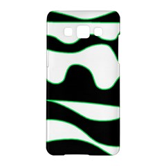 Green, white and black Samsung Galaxy A5 Hardshell Case