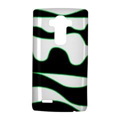 Green, white and black LG G4 Hardshell Case