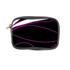 Purple, white and black lines Coin Purse