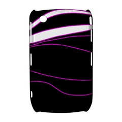 Purple, white and black lines Curve 8520 9300