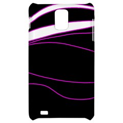 Purple, white and black lines Samsung Infuse 4G Hardshell Case