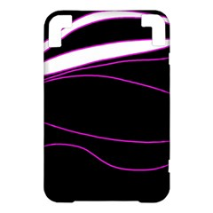 Purple, white and black lines Kindle 3 Keyboard 3G