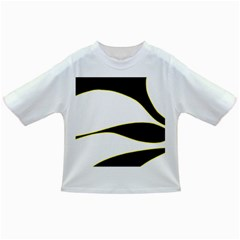 Yellow, black and white Infant/Toddler T-Shirts
