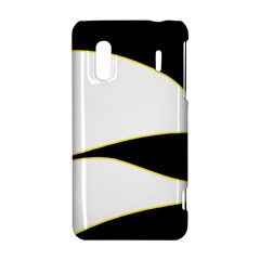 Yellow, black and white HTC Evo Design 4G/ Hero S Hardshell Case