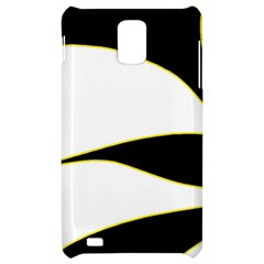 Yellow, black and white Samsung Infuse 4G Hardshell Case
