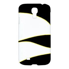 Yellow, black and white Samsung Galaxy S4 I9500/I9505 Hardshell Case