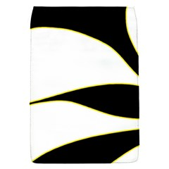 Yellow, black and white Flap Covers (S)