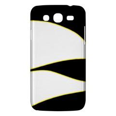 Yellow, black and white Samsung Galaxy Mega 5.8 I9152 Hardshell Case