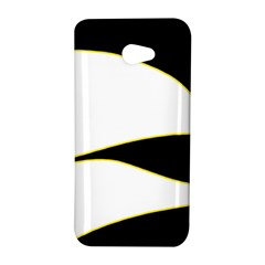 Yellow, black and white HTC Butterfly S/HTC 9060 Hardshell Case