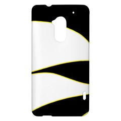 Yellow, black and white HTC One Max (T6) Hardshell Case