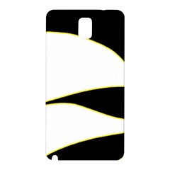 Yellow, black and white Samsung Galaxy Note 3 N9005 Hardshell Back Case