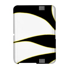 Yellow, black and white Amazon Kindle Fire (2012) Hardshell Case