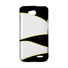 Yellow, black and white LG L90 D410