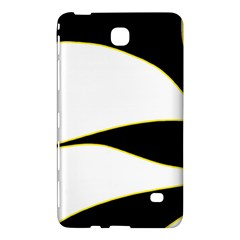 Yellow, black and white Samsung Galaxy Tab 4 (8 ) Hardshell Case