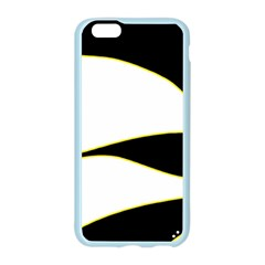 Yellow, black and white Apple Seamless iPhone 6/6S Case (Color)