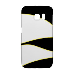 Yellow, black and white Galaxy S6 Edge