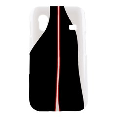 White, red and black Samsung Galaxy Ace S5830 Hardshell Case