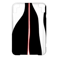 White, red and black Kindle 3 Keyboard 3G