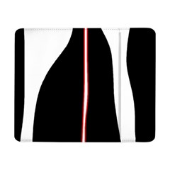 White, red and black Samsung Galaxy Tab Pro 8.4  Flip Case