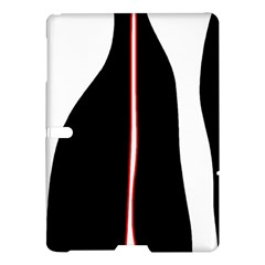White, red and black Samsung Galaxy Tab S (10.5 ) Hardshell Case