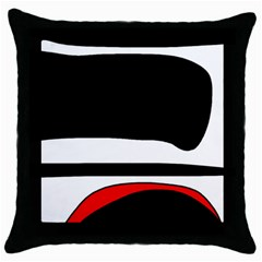 Fantasy Throw Pillow Case (Black)