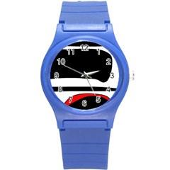 Fantasy Round Plastic Sport Watch (S)