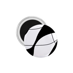 White and black shadow 1.75  Magnets