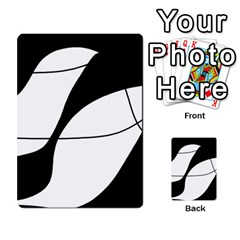 White and black shadow Multi-purpose Cards (Rectangle)