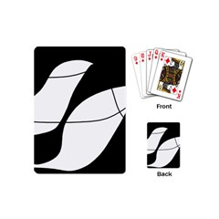 White and black shadow Playing Cards (Mini)