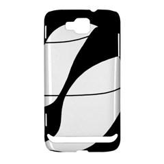 White and black shadow Samsung Ativ S i8750 Hardshell Case