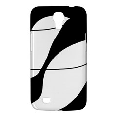 White and black shadow Samsung Galaxy Mega 6.3  I9200 Hardshell Case